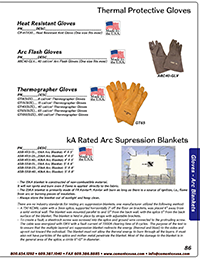 Catalog Arc Gloves & Blankets, HiVis, Fall Protection, Cooling & Accs