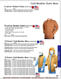 Catalog Outerwear & Rainwear