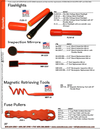 Catalog Specialty Tools