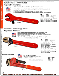Catalog Wrenches