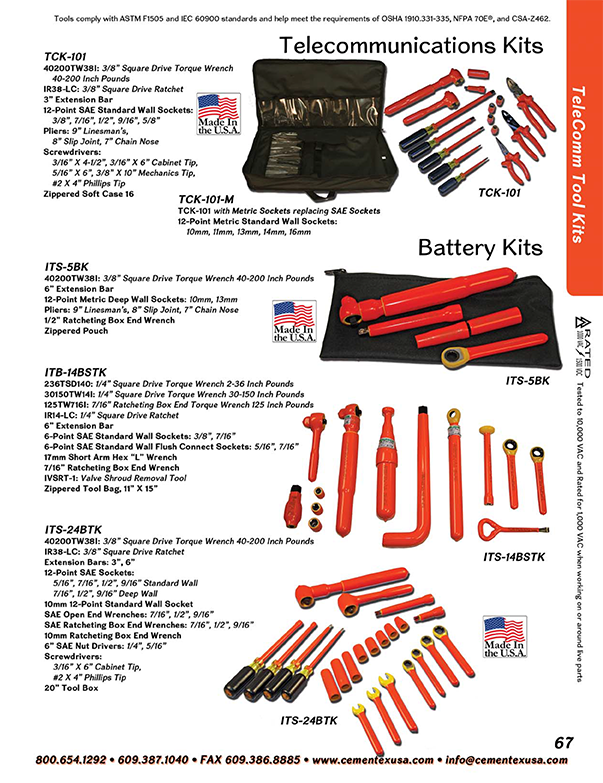 Catalog | Double Insulated Hand Tools | Personal Protective
