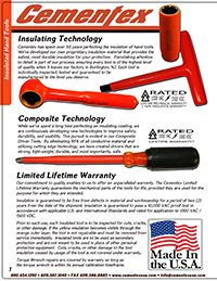 Cementex Tools Only Catalog Thumbnail